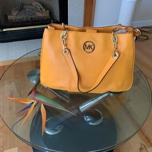 NWT-Micheal Kors Women's Yellow Handbag